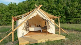 Glamping near Chicago: Be outdoors in style and comfort