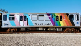CTA Pride Train returns to Red Line tracks
