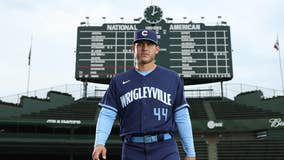 Cubs unveil new Wrigleyville jerseys as part of City Connect Series