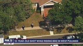 Boy, 13, shot in West Pullman