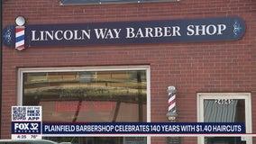 Illinois barbershop celebrating 140th anniversary with $1.40 haircuts