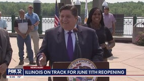 Illinois on track to fully reopen June 11