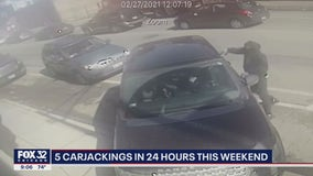 5 carjackings committed within 24 hours across Chicago area