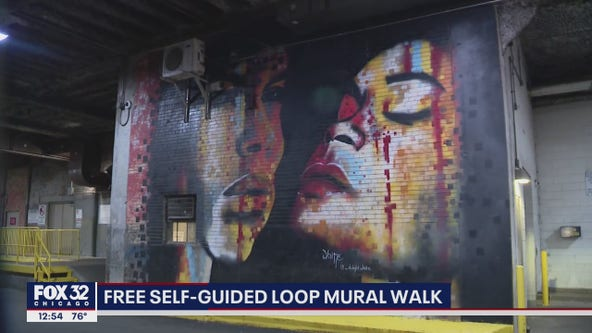 Free, self-guided mural walk opens in downtown Chicago