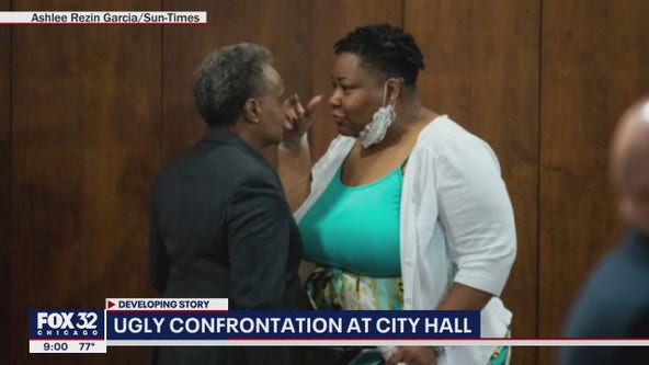Tensions flare: Lightfoot, Alderwoman Taylor clash at Chicago City Council meeting