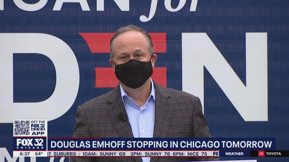 Second Gentleman Douglas Emhoff to visit Chicago