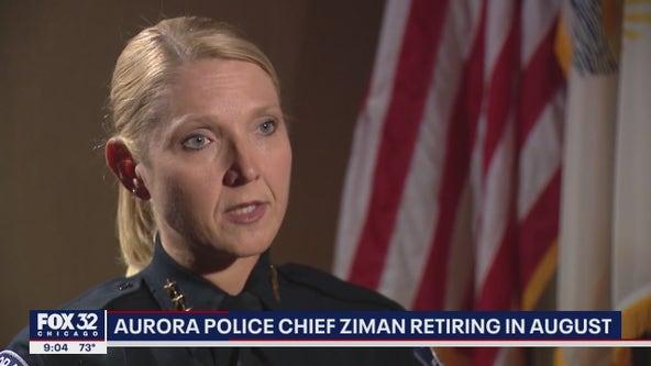 Aurora Police Chief Kristen Ziman announces her retirement