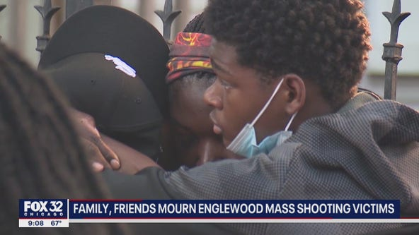 Grieving family members desperate for answers after mass shooting in Englewood