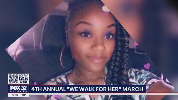 Dozens march for Black Chicago women and girls who've gone missing, been murdered