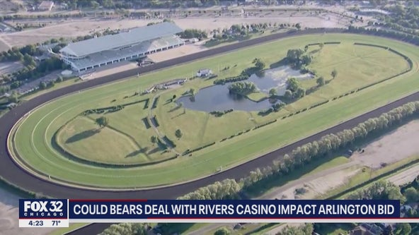 Could Chicago Bears new deal with Rivers Casino impact Arlington racetrack bid?