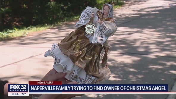 Naperville family impacted by tornado trying to find owner of Christmas angel