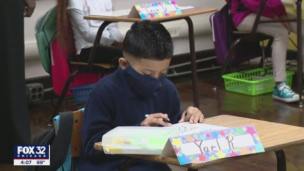 Parents in the Chicago suburbs push for kids to go maskless at school
