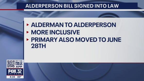 Pritzker signs law that will make alderman name more inclusive