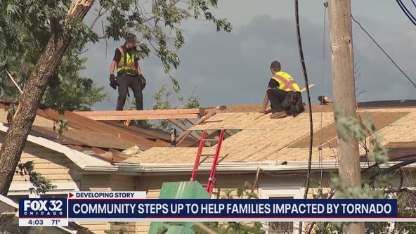 Recovery from tornado could take a full year, Naperville officials say