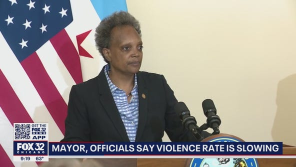 Lightfoot says violence rate is slowing after bloody weekend in Chicago