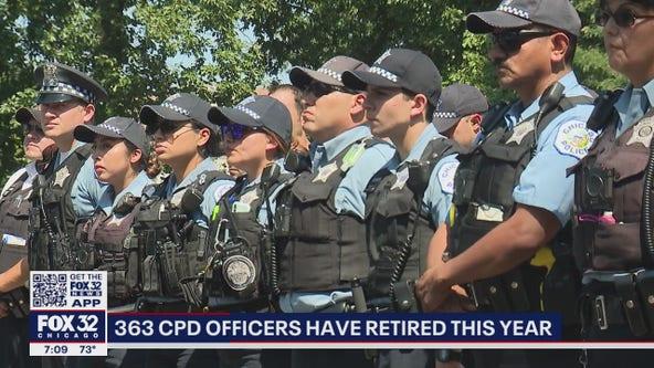 Chicago Police Department retirements soar amid increasing backlash