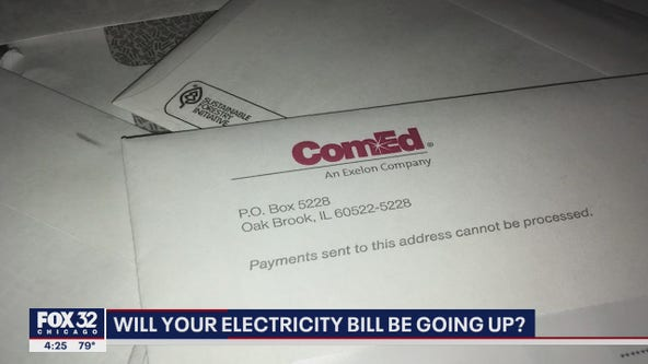 State lawmakers to vote on rate increase for Illinois electricity consumers