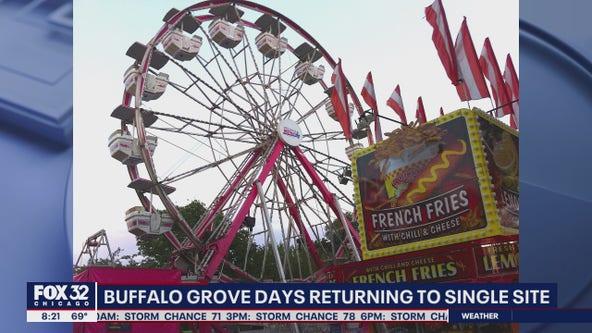 Buffalo Grove Labor Day Festival location changed