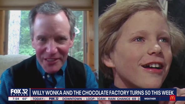 Iconic film 'Willy Wonka and the Chocolate Factory' turns 50 next week