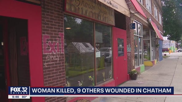Woman killed, 9 others hurt in Chatham shooting