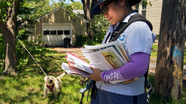 Chicago ranks in top 5 cities for most dog attacks on postal workers