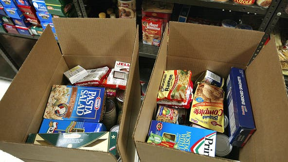 Chicago area food pantry providing groceries, supplies to families impacted by suburban tornado