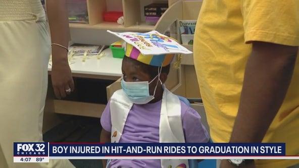 Chicago boy struck by vehicle still attends preschool graduation