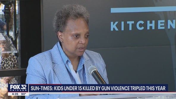 Lightfoot says gun violence 'trending in the right direction' amid bloodiest year in more than a decade