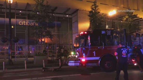 Blaze breaks out inside Loop Citibank, building has painful fire history