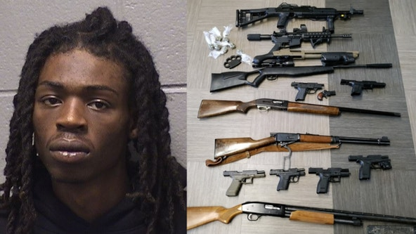 Man on electronic monitoring charged after guns, ammo recovered from his bedroom