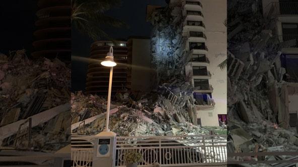 High-rise condo partially collapses near Miami Beach; search and rescue underway