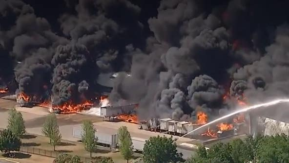Pritzker activates National Guard to respond to chemical fire in Winnebago County
