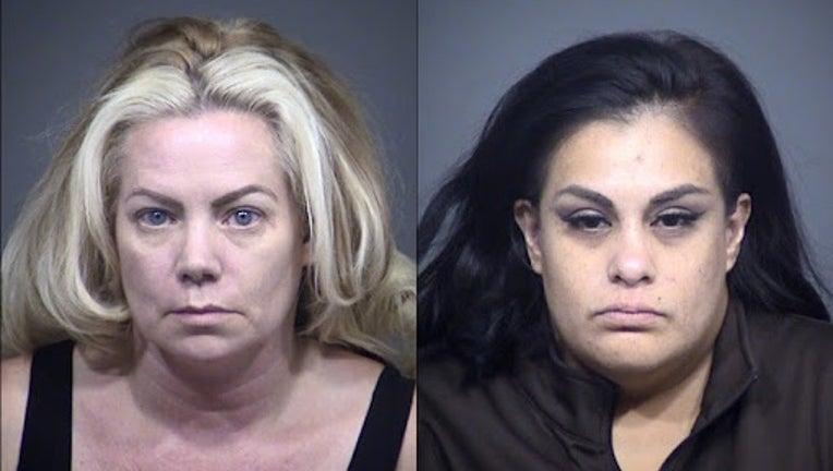 Mary Garcia, 47, and Melinda Rodriguez, 38