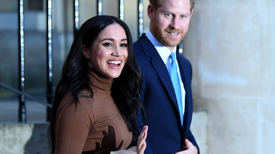 32210992-The Duke And Duchess Of Sussex Visit Canada House