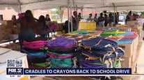 'Cradles To Crayons' supplies students with back to school necessities