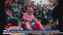'Great American Big Wheel Race' in Joliet on Saturday