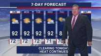 Chicagoland weather forecast for Saturday night, July 24