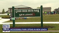 Accessible park for all abilities opens in New Lenox