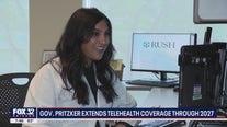 Gov. Pritzker extends teleheath coverage through 2027