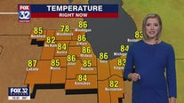 Afternoon forecast for Chicagoland on July 23