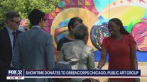Showtime donates to Greencorps Chicago and Chicago Public Art Group
