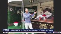 Hendrick's Gin Boat Bar at Lollapalooza