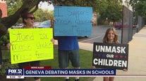 Geneva school debates masks after new CDC guidance