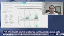 New model shows Delta variant will cause sharp rise in U.S. COVID deaths