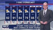 6 p.m. forecast for Chicagoland on July 26