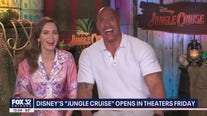 'Jungle Cruise' stars Dwayne Johnson and Emily Blunt talk about new film