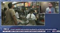 What's behind the restaurant staff shortage?