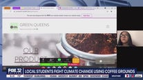 Green Queens: Local students use coffee grounds to combat climate change
