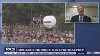 Lollapalooza prep continues despite COVID concerns