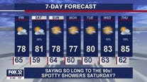 Evening forecast for Chicagoland on July 29